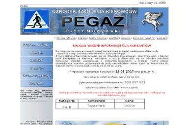 Ośrodek Szkolenia Kierowców PEGAZ (budynek MDK) - Szkoła Nauki Jazdy Lubin