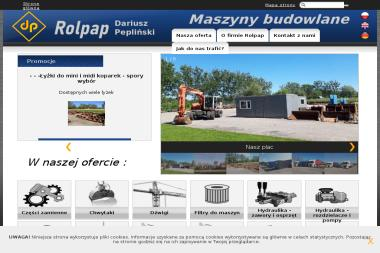 ROLPAP Używane maszyny budowlane, koparki, ładowarki - Mini Koparki Ruda