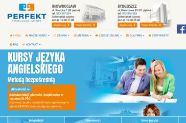 Perfekt S.C. M Świdziński i T Filipiuk - Nauczyciele angielskiego Janikowo