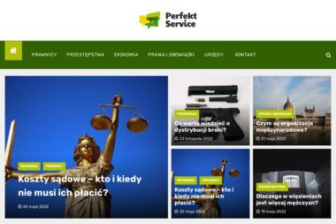 Perfekt Service Ochrona Mienia Osób i Doradztwo Prawne Sp. z o.o. - Ochrona Osób i Mienia Częstochowa