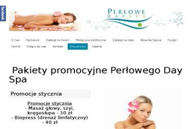 Perłowe Day Spa - Manicure i pedicure Radomsko