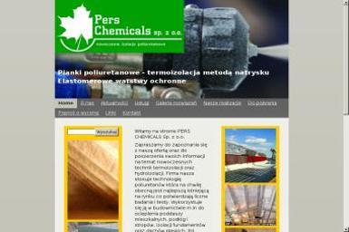 Pers Chemicals. Termoizolacja, hydroizolacja - Posadzki przemysłowe Kutno