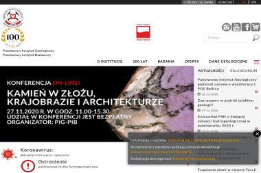 Państwowy Instytut Geologiczny-Państwowy Instytut Badawczy Oddział Karpacki im. Mariana - Badania Geologiczne Gruntu Kraków
