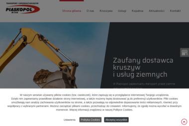 P P u H Piaskopol Słopsk S.C. Marek Kacprzak Wiesław Garbarczyk Sylwester Pacik - Skład budowlany Słopsk