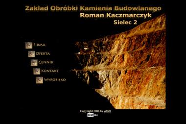 Zakład Obróbki Kamienia Budowlanego - Pianka Polietylenowa Ostrów