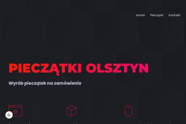 Pieczatki-Olsztyn.pl. Pieczątki, stemple - Wizytówki Olsztyn