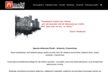 PIMOLTI Reklama & Druk - Ulotki Częstochowa