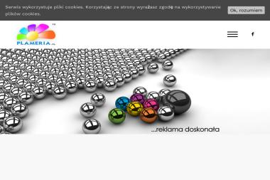 Plameria. Studio reklamy - Drukarnia Marki