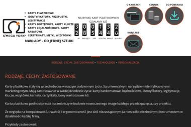 Wojciech Nowacki O Mega York - Usługi Reklamowe Swornegacie