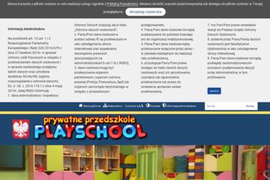 Prywatne Przedszkole Playschool. Marek Kołaczkowski - Psycholog Łódź