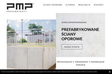 PMP – Prefabrykaty - Ogrodzenia betonowe Kije