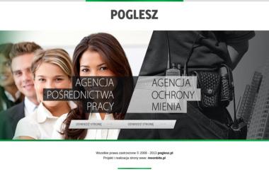 I Agencja Pośrednictwa Pracy Poglesz II Agencja Ochrony Mienia Poglesz - Agencja ochrony Sanok