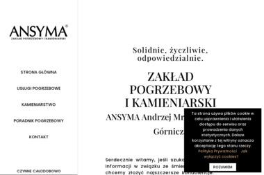 Zakład Pogrzebowy i Kamieniarski - Andrzej Mróz - Schody kamienne Dąbrowa Górnicza