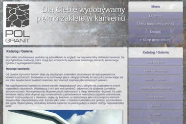 Przywarty Polgranit Spółka Komandytowa - Nagrobki z Granitu Babin-Olędry