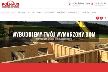 Polhaus Budowa domów szkieletowych - Tynki maszynowe Śmiłowo