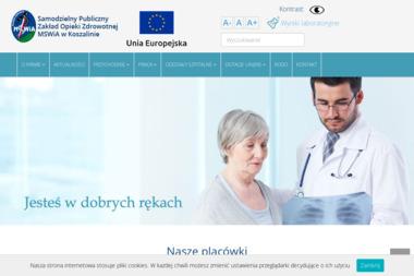Zakład Opieki Zdrowotnej MSWiA Poliklinika w Koszalinie - Psycholog Koszalin