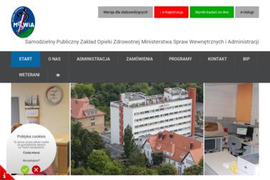Zakład Opieki Zdrowotnej MSWiA - Szpital - Psycholog Zielona Góra