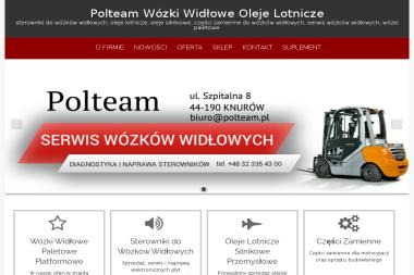 PHU Polteam - Wózki widłowe Knurów