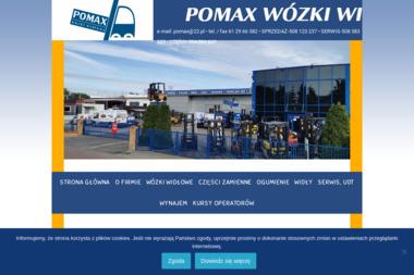 Pomax Wózki Widłowe - Krótkoterminowy wynajem wózków widłowych Wysogotowo