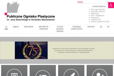 Publiczne Ognisko Plastyczne im Jana Skotnickiego w Grodzisku Mazowieckim - Fotograf Grodzisk Mazowiecki