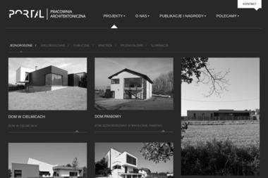 Portal Pracownia Architektoniczna Wilczok Robert. Architekt - Projekty Małych Domów Tychy