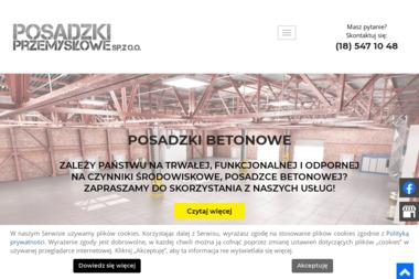 POSADZKI PRZEMYSŁOWE Sp.z o.o. - Posadzki przemysłowe Nowy Sącz