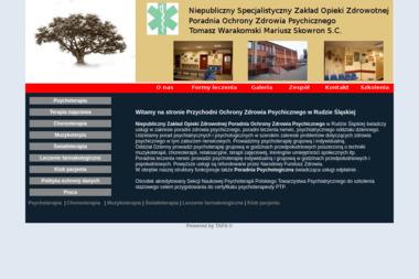 Poradnia Ochrony Zdrowia Psychicznego - Rehabilitant Ruda Śląska