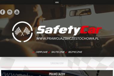 OŚRODEK SZKOLENIA KIEROWCÓW SAFET CAR, PRAWO JAZDY CZĘSTOCHOWA - Szkoła jazdy Częstochowa
