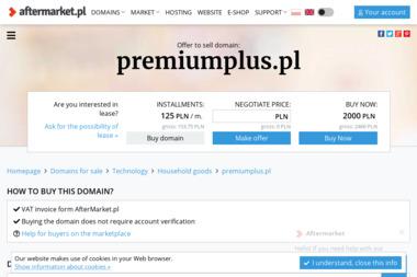 Premium Plus. Rafał Leszczyński - Firma Reklamowa Rzeszów
