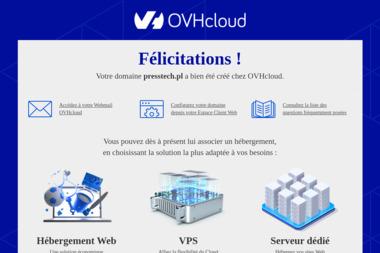 Presstech. Piotr Antoniuk - Posadzki przemysłowe Hajnówka