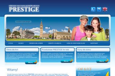 Ośrodek Nauczania Języków Obcych Prestige - Język Angielski Komorów