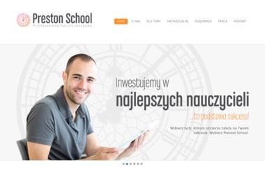 Preston School & Publishing Szkolenia Językowe Tłumaczenia Wydawnictwo Magdalena Filak - Szkoła językowa Brzozów
