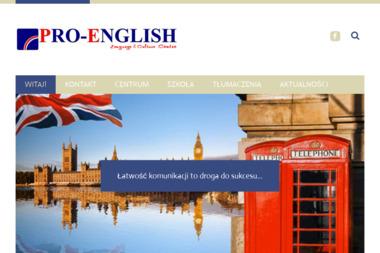 PRO-ENGLISH - Kursy Języków Obcych Grudziądz