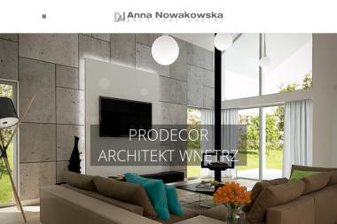 Prodekor Anna Nowakowska. Projektant wnętrz - Adaptacja projektów Nowa Sól
