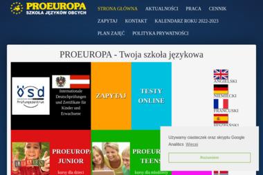 Proeuropa - Kurs niemieckiego Łódź