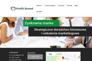 Profit Brand Justyna Hoppe. Marketing, doradztwo marketingowe, szkolenia marketingowe - Kurs marketingu Toruń