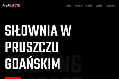 Profit Gym. Siłownia, sauna - Trener personalny Pruszcz Gdański