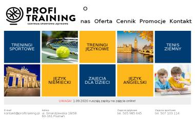 ProfiTraining. Centrum sportowo-językowe - Korepetycje z Niemieckiego Poznań