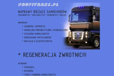 Mariusz Pukajło Profitrans - Transport ciężarowy krajowy Opole