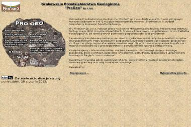 Progeo Krakowskie Przedsiębiorstwo Geologiczne - Badanie Zagęszczenia Gruntu Kraków