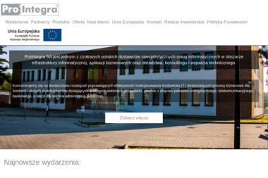 Prointegra Sp. z.o.o. - Serwis komputerowy Katowice