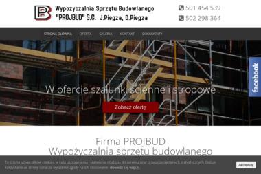 """Wypożyczalnia Sprzętu Budowlanego """"PROJBUD"""" S.C. - Zagęszczarki nowe Piła Kościelecka"""