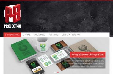 Agencja Reklamowa Project48 - Ulotki Składane Radom