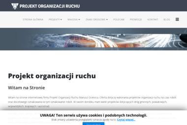 Projekt Organizacji Ruchu. Usługi Projektowe. Projektowanie, oznakowania - Projekty Domów Parterowych Lędziny