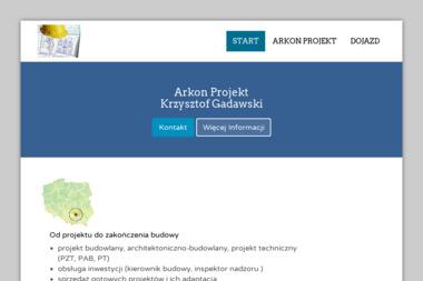 Arkon Projekt Krzysztof Gadawski - Architekt Busko-Zdrój