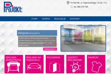 Projekt Studio Reklama i Grafika Sławomir Wyszomirski - Kampanie Reklamowe Ełk
