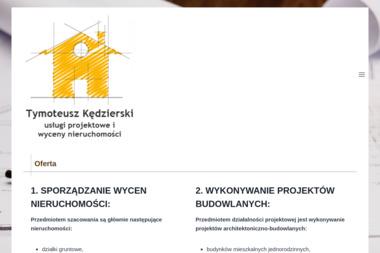 Usługi Projektowe i Wyceny Nieruchomości Tymoteusz Kędzierski - Agencja Nieruchomości Płońsk