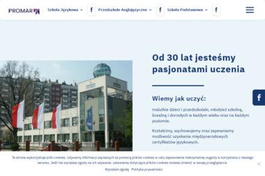 Promar International. Filia Lesko - Szkoła językowa Lesko