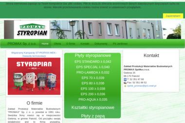 PROMAX Spółka z o.o. - Wymiana Okien Pakość