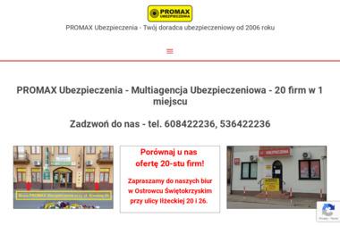Promax Ubezpieczenia - Ubezpieczenie firmy Ostrowiec Świętokrzyski